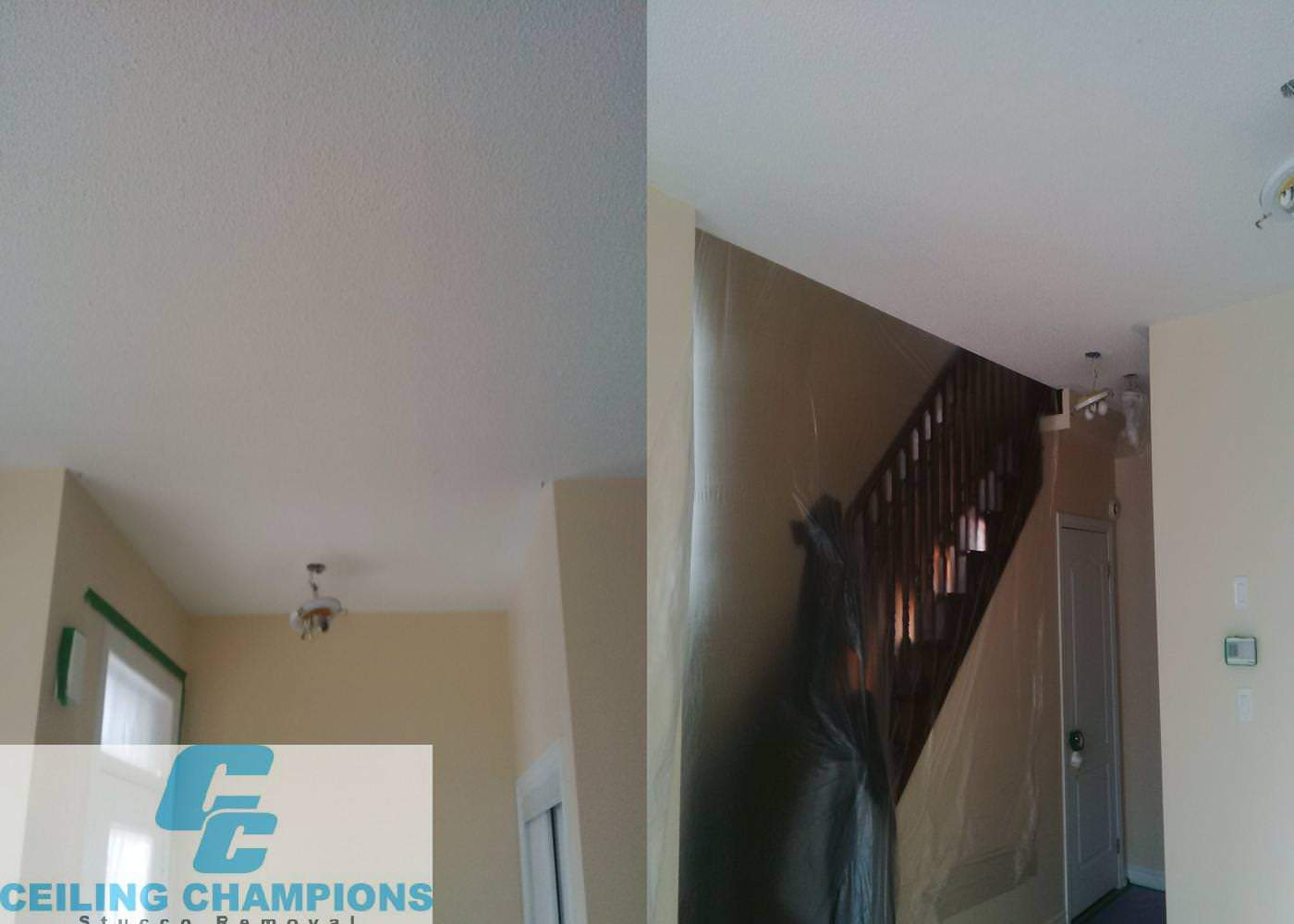 Nice job in Mississauga drywall