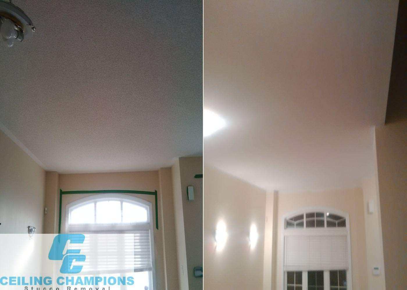 ceiling repair by champions