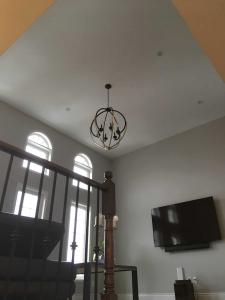 Smooth Ceiling No Stucco